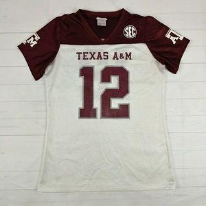 """Texas A&M Aggies """"12th Man"""" Football Jersey"""